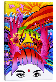 Canvas print  Free your mind - Pete Kelly