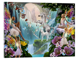 Acrylglas print  Unicorn waterfall - Garry Walton