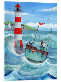 Acrylglas print  Lighthouse - Peter Adderley