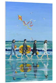 PVC print  Abbey Road Beach - Peter Adderley