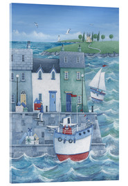 Acrylglas print  Harbour gifts - Peter Adderley
