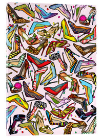 Acrylglas print  Shoe Crazy - Lewis T. Johnson