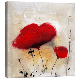 Canvas print  Poppies I - Vittorio Vitale