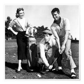 Premium poster THE CADDY, Donna Reed, Jerry Lewis, Dean Martin