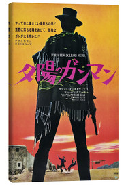 Canvas print  For a Few Dollars More (Japans)