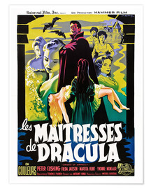 Premium poster  THE BRIDES OF DRACULA (LES MAITRESSES DE DRACULA), David Peel