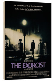 Hout print  The Exorcist