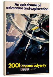 Hout print  2001: A Space Odyssey