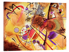 Acrylglas print  Small dream in red - Wassily Kandinsky