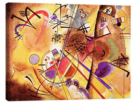 Canvas print  Kleine droom in rood - Wassily Kandinsky