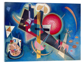 Acrylglas print  In the blue - Wassily Kandinsky