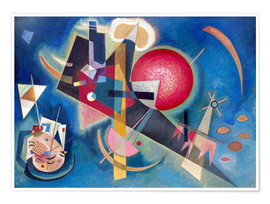 Premium poster  In the blue - Wassily Kandinsky