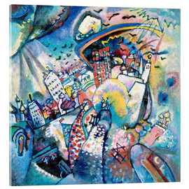 Acrylglas print  Moscow. Red Square - Wassily Kandinsky