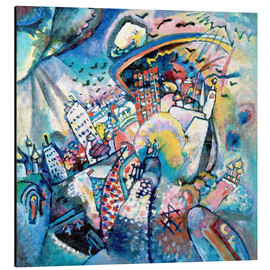 Aluminium print  Red square - Wassily Kandinsky