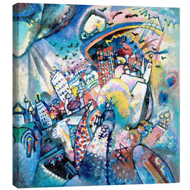 Canvas print  Moscow. Red Square - Wassily Kandinsky