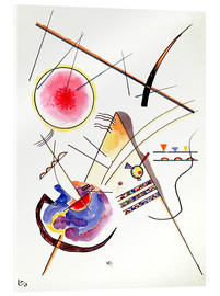 Acrylglas print  Watercolor from the Hess Guest Book - Wassily Kandinsky
