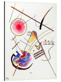 Aluminium print  Watercolor from the Hess Guest Book - Wassily Kandinsky