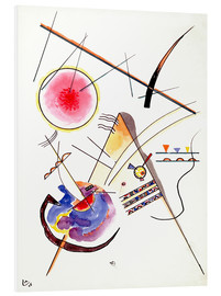PVC print  Watercolor from the Hess Guest Book - Wassily Kandinsky