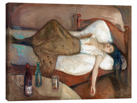 Canvas print  The day after - Edvard Munch