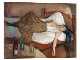 PVC print  The day after - Edvard Munch