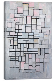Canvas print  Composition No. IV. - Piet Mondriaan