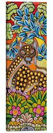 Canvas print  The view of a cheetah - Mzuguno