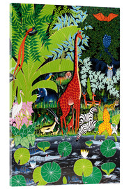 Acrylglas print  Wildlife at the bottom - Issa