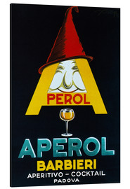 Aluminium print  Aperol Barbieri - Advertising Collection