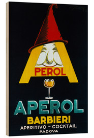 Hout print  Aperol Barbieri - Advertising Collection