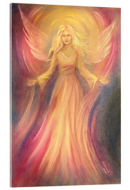 Acrylglas print  Angel of light and love - Marita Zacharias