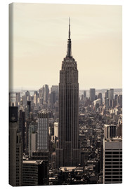 Canvas print  Empire State Building Vintage - Buellom