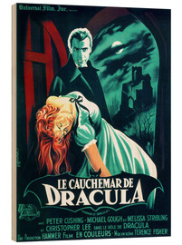 Hout print  Dracula - Entertainment Collection