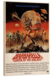 Hout print  Barbarella - Entertainment Collection