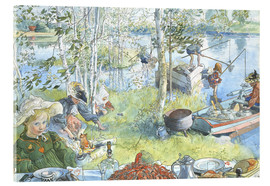 Acrylglas print  Opening of the crab fishing season - Carl Larsson