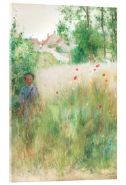 Acrylglas print  The flower garden - Carl Larsson