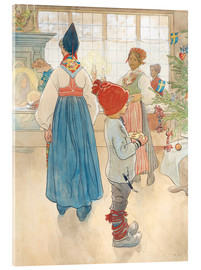 Acrylglas print  Before Christmas - Carl Larsson