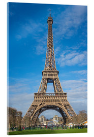 Acrylglas print  The Eiffel Tower, Paris - FineArt Panorama