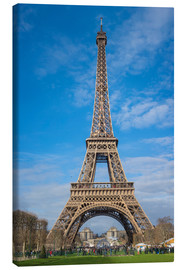 Canvas print  The Eiffel Tower, Paris - FineArt Panorama