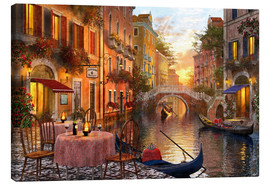 Canvas print  Venetian sunset - Dominic Davison