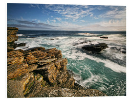 PVC print  Northcoast Scotland - Caithness - Martina Cross