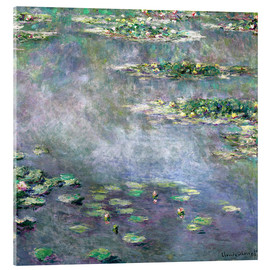 Acrylglas print  Water-Lily pond - Claude Monet