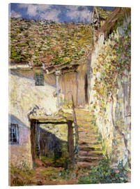 Acrylglas print  The staircase - Claude Monet