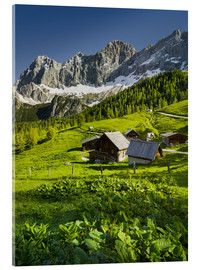 Acrylglas print  Alpine Dream - Rainer Mirau