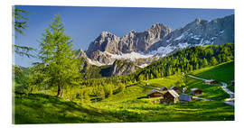 Acrylglas print  Alpine Dream II - Rainer Mirau