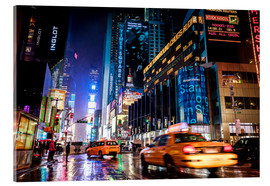 Acrylglas print  Walking down Broadway - New York City - Sascha Kilmer