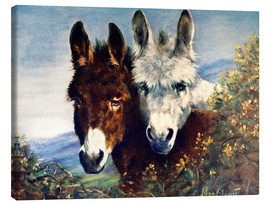 Canvas print  The Wise Ones (Donkeys) - Lilian Cheviot