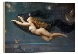 Hout print  The Night - Auguste Raynaud