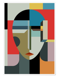 Premium poster  PORTRAIT OF A WOMAN - THE USUAL DESIGNERS