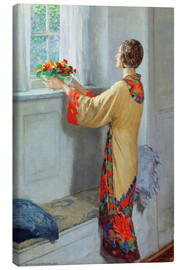 Canvas print  New day - William Henry Margetson