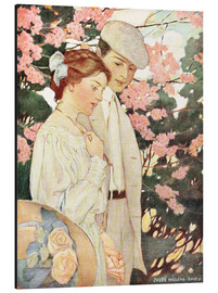 Aluminium print  Lovers - Jessie Willcox Smith